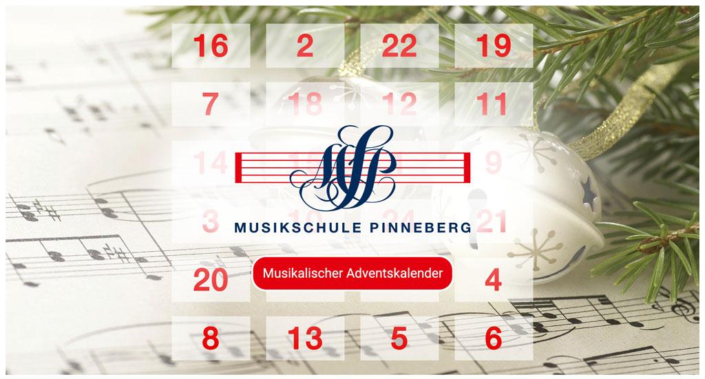 Adventskalender der Musikschule Pinneberg.