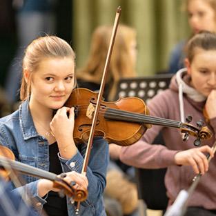 Musikschule Pinneberg Geige lernen