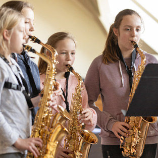 Musikschule Pinneberg Saxophon lernen
