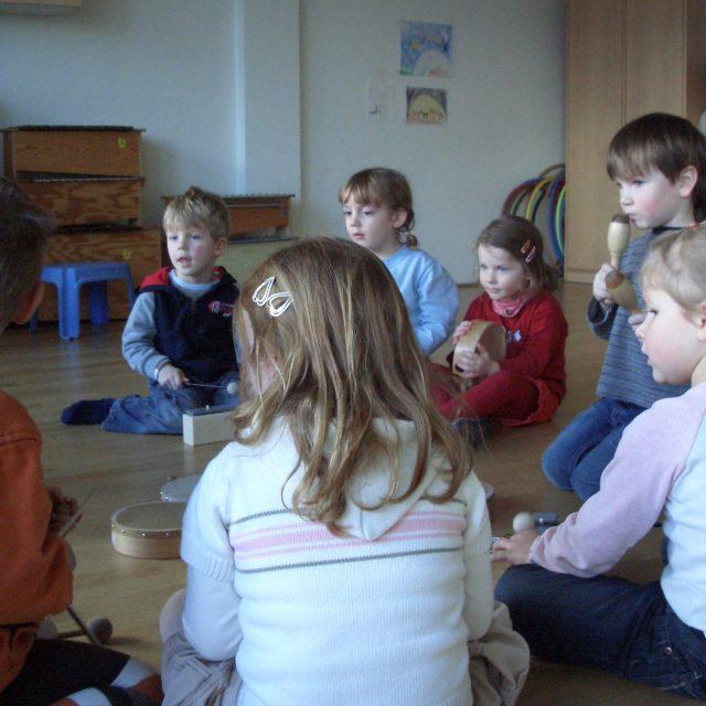 Freie Plätze in der Musikalischen Frühpädagogik