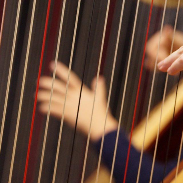 Harfenworkshop am 23. und 24.November 19 mit einem öffentlichem Abschlusskonzert