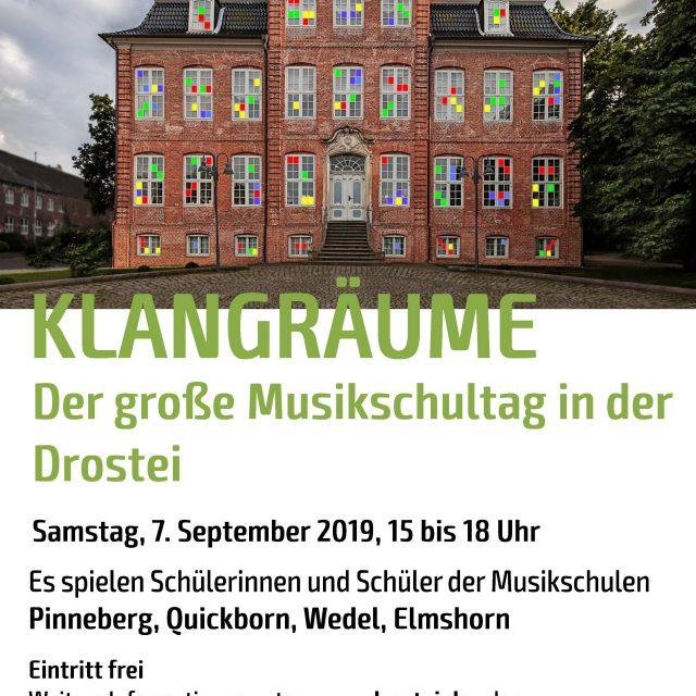"""Klangräume""  Vier Musikschulen –  ein Konzert"