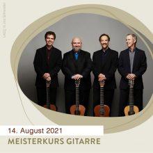 MEISTERKURS FÜR GITARRE am 14. August 2021